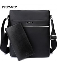 Casual Men Bag Business Leather