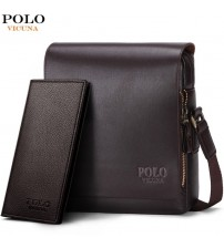 Fashion Business Leather Men Messenger Bags