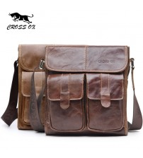 CROSS OX Men's Shoulder Bag Satchel Genuine