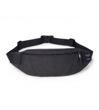 Hk Fanny Pack Black Waterproof Money Belt Bag