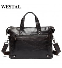 Genuine Leather Business Men Bags