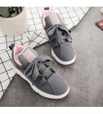 Genuine Leather Sneakers Women Shoes