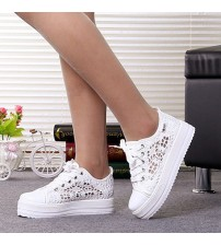 White/Black Women's Vulcanize Shoes