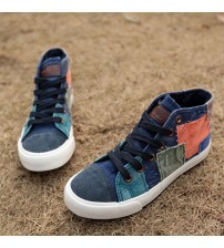 Fashion Sneakers High Top Women Casual Shoes
