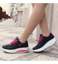 Waterproof Wedges Platform Shoes Sneakers