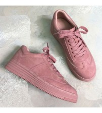 Teahoo Genuine Leather Women Sneakers