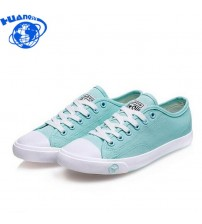 Women Canvas Shoes Casual Lace-Up