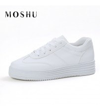 Women Causal Platform Creepers Shoes Basket