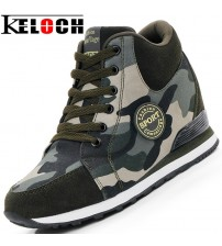 Female Casual Shoes High-Top Camouflage