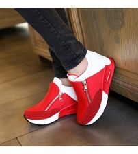 Women Casual Shoes Height Increasing