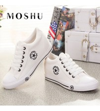 Sneakers Wedges Canvas Shoes Women