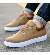 Men Casual Vulcanize Shoes Oxford Sneakers