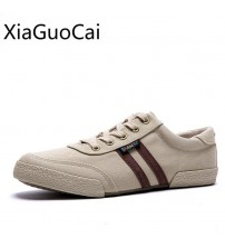 Retro Men Canvas Shoes Sewing Sneakers