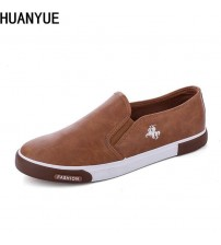 Mans Canvas Shoes Flat Loafers