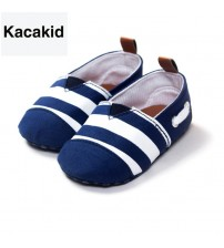 Baby Soft Bottom Striped Loafer Shoes