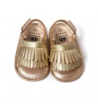 Baby Girl Shoes Leather Tassel