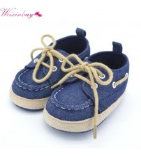 Baby Blue Sneakers Soft Bottom Shoe