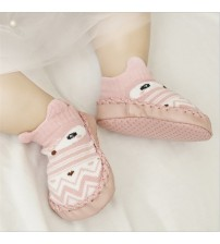 Baby Shoes PU Leather Rubber Sole