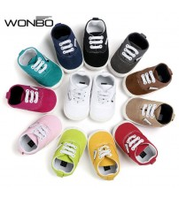Baby Canvas Shoes Soft Bottom Non-slip