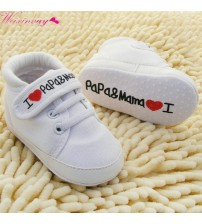 Baby Soft Sole Canvas Sneaker Shoes