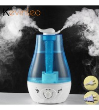 3L Ultrasonic Air Humidifier Aroma Oil Diffuser