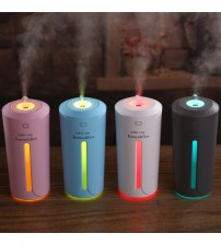 Air Humidifier USB Air Purifier Freshener With LED Lamp