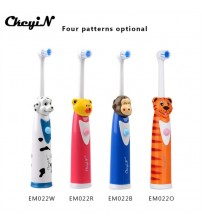 4Colors Waterproof Soft-Bristle Kids Electric Toothbrush