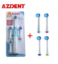 AZDENT Electric Toothbrush With Replacement Heads