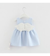 Baby Angel Feathers Party Dress Princess
