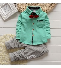 Boys Clothes Sets Long Sleeves T-shirt + Pants