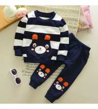 Boy Clothes Cartoon Long Sleeve+Casual Long Pants