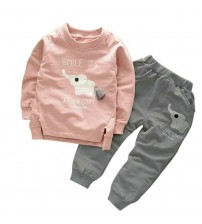 Autumn Winter T-Shirt+Pants Suit Children Costume
