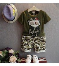 Boys Clothing Set Short Sleeve T-shirt+Shorts