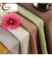 Modern Solid Color Kitchen Curtains