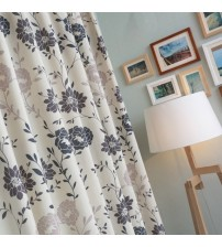 Floral Printed Curtains For Living Room