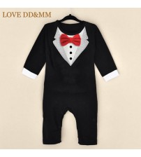 Baby Rompers Clothing Tie Gentleman Bow Jumpsuit