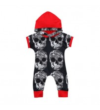 Baby Boys Clothes One-pieces Hooded Romper