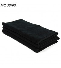 3pcs/set Black 34*70cm Face Towel