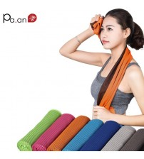 2 Piece Summer Cooling Sports Towel Microfiber