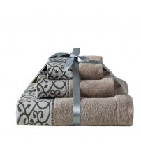 3PCS/Set Luxury Cotton Gift Bath Towels
