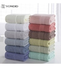100% Cotton Solid Bath Towel Beach Towel For Adults