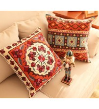 Embroidered Luxury Cushion Cover Chinese Style Pillow Case