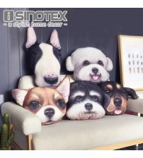 Cute Dog Cushion Cover Pillow Cases