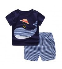 Baby Clothing Set Short Sleeve + Pant