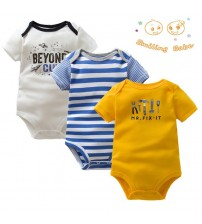 Baby Bodysuit Overalls Short Sleeve Clothing