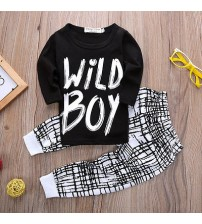 Baby Boy Clothes Long Sleeve Top + Pants