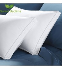 600 Fill Power White Duck Down Gusseted Pillow