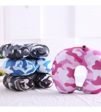 Double-Sided Printed Travel Neck U-Shaped Pillow