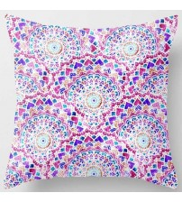 Creative Design Purple  Flowers Pretty Floral Pattern Pillow