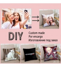 DIY Image Photo Two Sides Printed Pillowcase